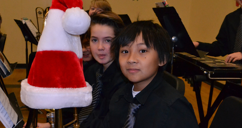 Hat's off to our players at the Winter Concert