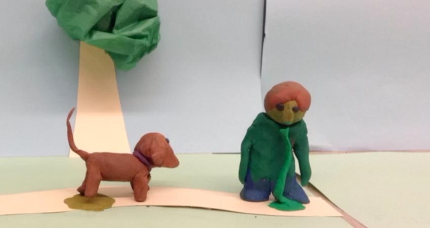 """That truly is a """"Bad Dog"""".  Check out this amazing Stop-Motion Animation at the December Retro page"""