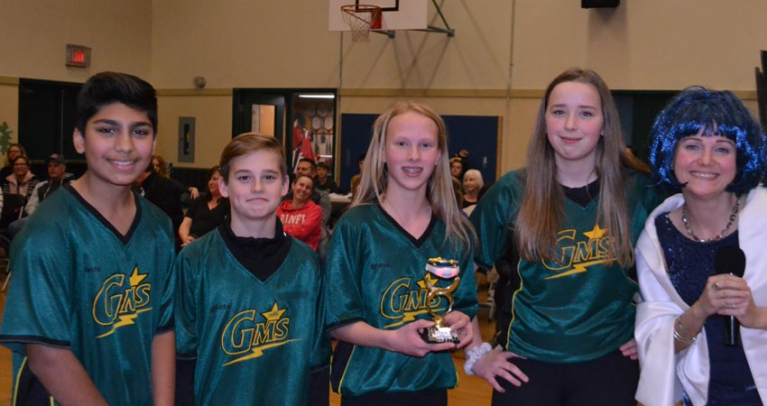 Students win challenge again…It turns out that Basketball may not be the Staff's game either!