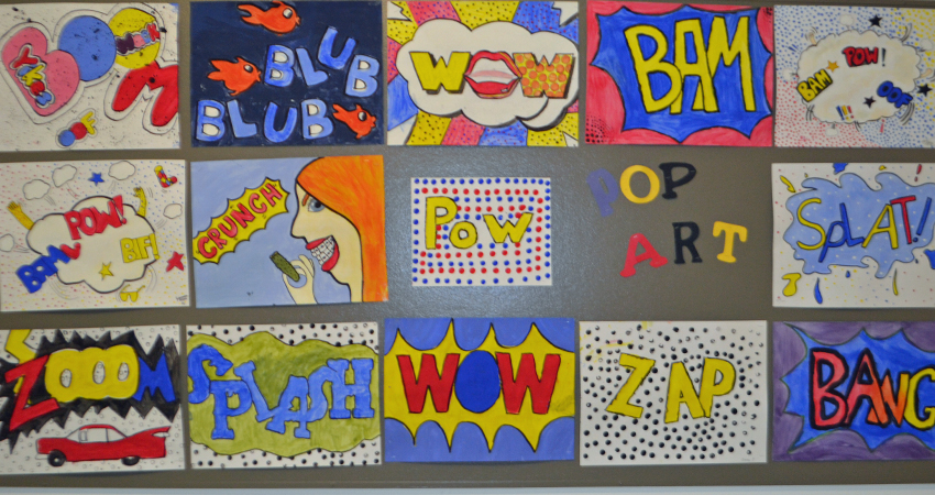 Art Exploratory at it again with 'Pop Art Posters'