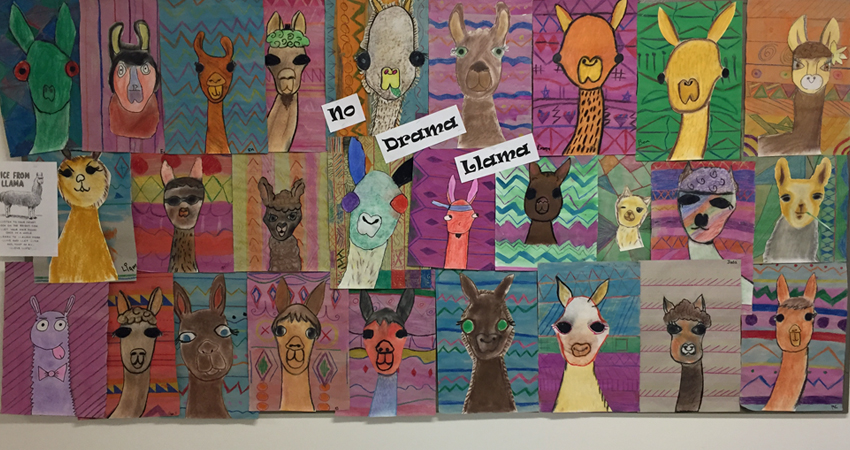 Art Exploratory – We're Kinda Fonda Llamas
