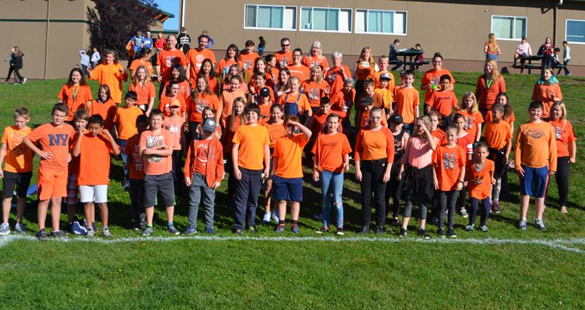 Orange Shirt Day at GMS