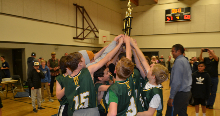 You Get a Trophy…And You Get a Trophy…And You Get A Trophy!!  GMS Rules the Hardcourt!