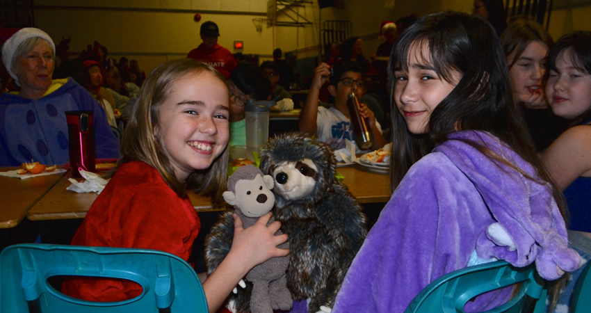 Pjs, Pancakes, & Stuffies… Middle School is Perfect!